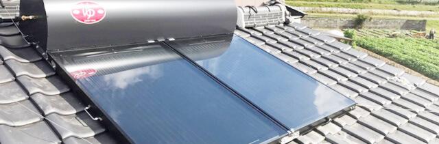 ソーラー(太陽熱温水器)イメージ
