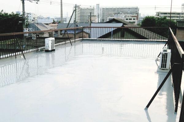 屋上の施工後