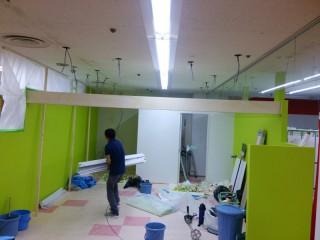 店舗照明工事④